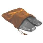"Travel Shoe Bag 12 1/2""x15"" Drawstring Camel Soft Nylon Shoe Tote Bags, Suitcase Dress Travel"