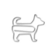 3 X Midori D-Clips Dog