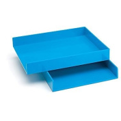 Poppin Letter Tray (Pool Blue)