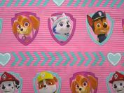 Paw Patrol Puptacular (FLAT SHEET ONLY) Size TWIN Boys Girls Kids Bedding