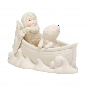Snowbabies Classics Two in a Canoe Figurine, 10cm