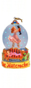 Mini Snow Globe Clara Ballerina with Nutcracker