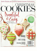 CHRISTMAS COOKIES MAGAZINE, BEAUTIFUL & EASY, WATER colour DECORATING ! 2016