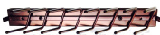 Touch to Open Deluxe Sliding Tie Rack, Oil Rubbed Bronze 14