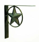 IRON STAR BRACKET, 20cm TALL.