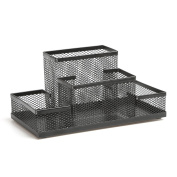 Aojia Mesh Collection Supply Caddy, Black Ly-9125c