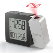 Oregon Scientific RM338 PROJI Radio Controlled Projection Clock with Indoor Temperature