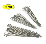 Z-colour 90 Pieces 79mm 86mm 91mm Felting Needles DIY Wool PIN Felting Tools Kits Medium--Each Sizes OF 30PCS