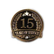 None - 15 Years of service Lapel Pin
