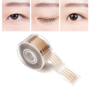 CCbeauty 300 Pairs Adhesive Invisible Fibre Double Eyelid Tape Stickers-Natural Complexion