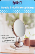 Double Sided Oval Shape All Purpose Makeup Mirror
