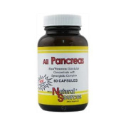 Natural Sources All Pancreas Capsules, 60 Count by Natural Sources