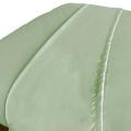 ForPro Premium Microfiber Flat Sheet, Sage