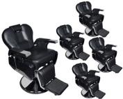 TMS® 5 x All Purpose Hydraulic Recline Barber Chairs Salon Beauty Spa Shampoo Equipment