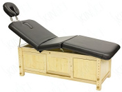 Supreme Edition Wooden Frame Massage Table with Adjustable Hight