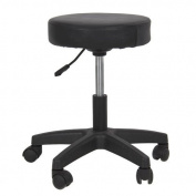 Salon Stool Hydraulic Tattoo Massage Facial Spa Stool Chair Black New