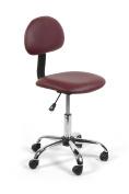Esthetician Technician Stool ALICE BURGUNDY Chair for Spa Salon Office