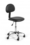 Esthetician Technician Stool ALICE BLACK Chair for Spa Salon Office