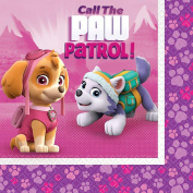 Pink Paw Patrol Girl Party Supplies Lunch Napkins