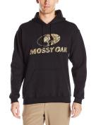 Mossy Oak Men's Printed Camo-Lined Hoodie