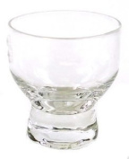 JapanBargain Set of 6 Glass Cold Sake Cup Clear