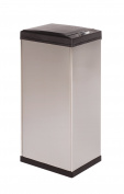 Kamenstein Rectangle Stainless Steel Trash Can, 50-litre/ 13-Gallon