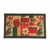 Christmas Kitchen Rug, Christmas Gift 46cm x 80cm , Rectangular