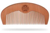 Beaver Scooter 754 Pearwood Moustache and Beard Comb