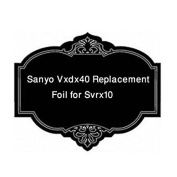 Sanyo Vxdx40 Replacement Foil For Svrx10