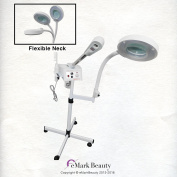 eMark Beauty High Frequency Steamer Magnifying Lamp Flexible Arm TLC-9003