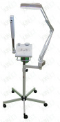2 in 1 Digital Facial Steamer with Ozone and Aroma Therapy Basket and Magnifying Lamp