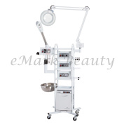 eMark Beauty 13 in 1 T4 Multifunction Facial Machine Ozone Aromatherapy Steamer Microdermabrasion. ON ALL WARRANTY WORK