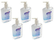 Purell Hand Sanitiser Pump Dispenser - 350ml x 5