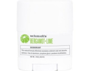 Schmidt's Bergamot Deodorant Roll-On Deodorant Stick - Travel Size + Lime 19,8g