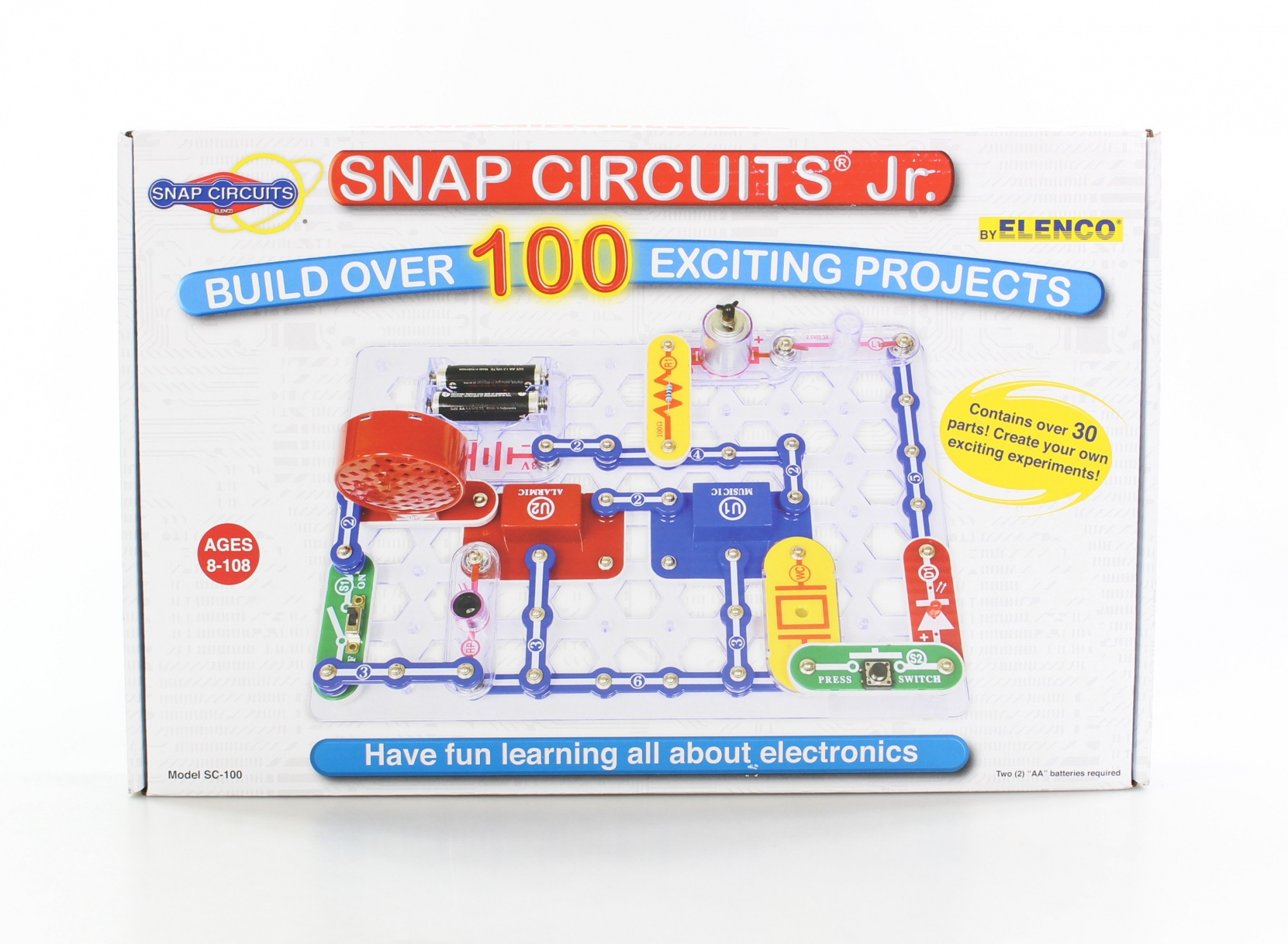 Snap Circuits Toys Buy Online From Elenco Electronics Mini Kit Basic Electricity