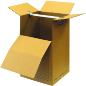 Bankers Box SmoothMove Wardrobe and Moving Boxes, 50cm x 50cm x 90cm , 1 Pack