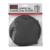 Oggi Replacement Charcoal Filters for Compost Pails # 7320, 5427, 5448 and 7700, Set of 4