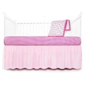 Tadpoles Geometric Crib Set, Pink