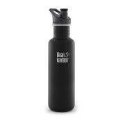 Klean Kanteen Classic Stainless Steel Bottle With Sport Cap