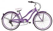 Micargi Rover 7-Speed 70cm Women's Beach Cruiser Bicycle, Steel Frame