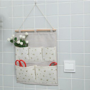 Creative Home Cotton Linen Retro Storage Bags, Two Colours Are Available