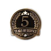None - 5 Years of service Lapel Pin