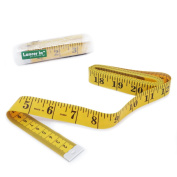 Cloth Tape Measurenment, 120 inches/300cm Soft Ruler for Sewing, Tailor, Cloth, Ruler with Clear Scale, by Lancer La