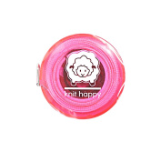 Knit Happy Tape Measure Pink