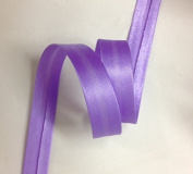 12 yards 1.6cm Single Fold Satin Bias Tape 20 different colours In Lavender