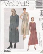 Misses' Dress and overdress in FW