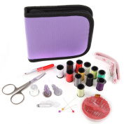 Home-X Soft Zippered Mini Sewing Kit