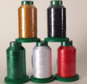 Isacord Embroidery Thread 1000m Christmas Kit