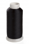 Sinbel Polyester Embroidery Under Thread Black Colour Bottom Thread 5000 Metres Per Spool For Brother Babylock Janome Singer Pfaff Husqvaran Bernina Machines