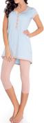 Di Ficchiano Women's Maternity Nightwear Set